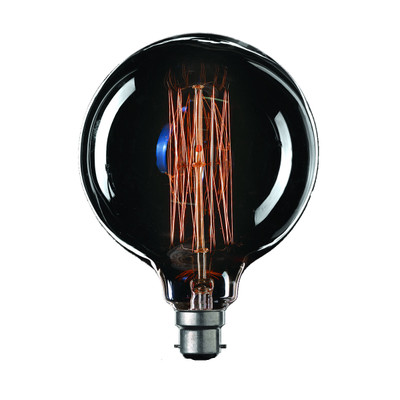 Vintage Filament G125 Globe - B22 base