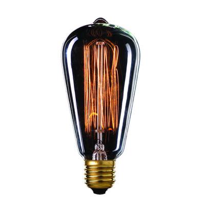 Vintage Filament Edison ST18 Globe - E27 base