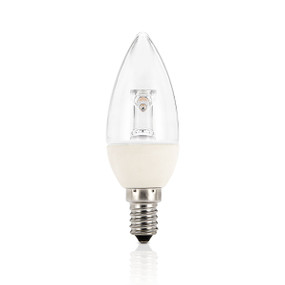 Light: LED Candle Globes - WARM WHITE (E14 base)