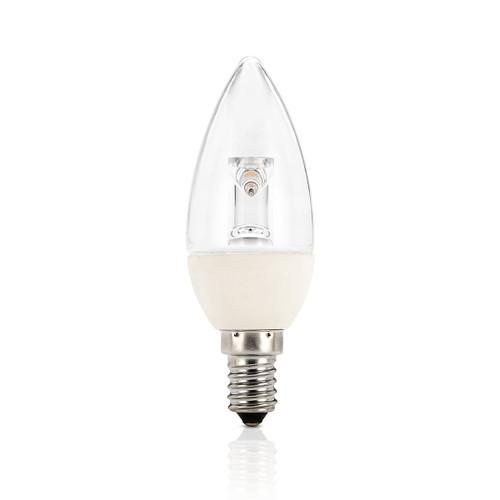 Light: LED Candle Globes - WARM WHITE (E14 base)