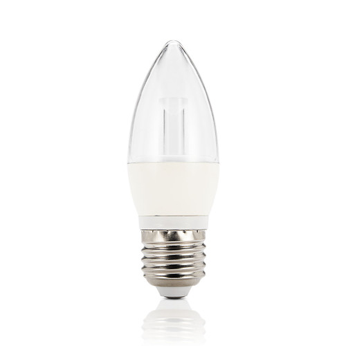 Light: LED Candle Globes - WARM WHITE (E27 base)