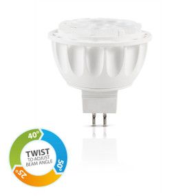 Light: LED MR16 Adjustable Reflector Globes - WARM WHITE