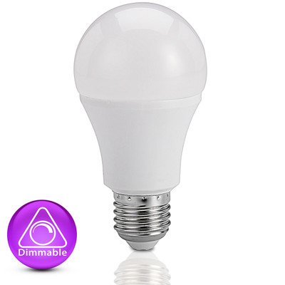 Light: LED Classic 8W Globes - COOL WHITE (E27 base, dimmable)