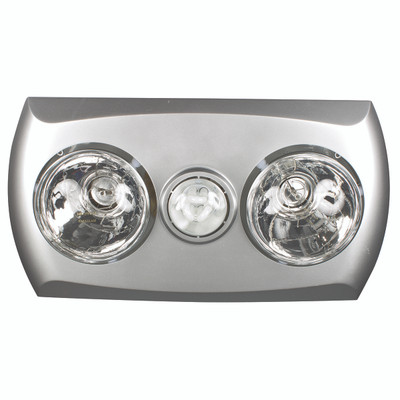 Light: MAJESTIC 3-in-1 Bathroom Mate - SILVER