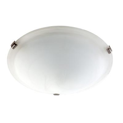 Light: SPIRELET Flush Ceiling Light - BRUSHED CHROME