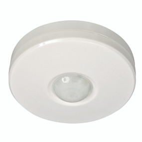 Full Surround 360 Degree Surface Mount PIR Sensor - White