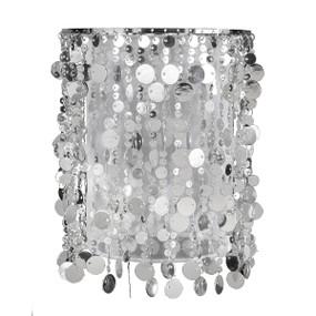 Light: SILVER DOLLAR DIY Multi-Purpose Shade - SILVER