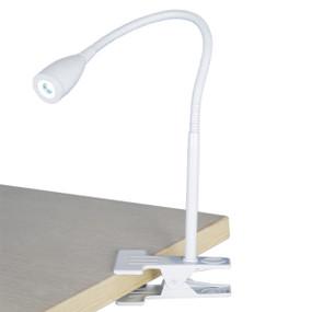 Light: SASSY LED Clip-On Lamp - WHITE