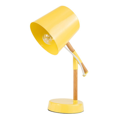 Light: TITCH Retro Table Lamp - YELLOW