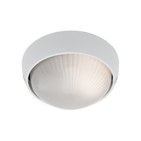 Coogee Small Round White Ceiling Light
