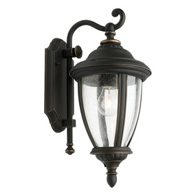 Outdoor Wall Light - Marine Grade 60W IP43 395mm Bronze