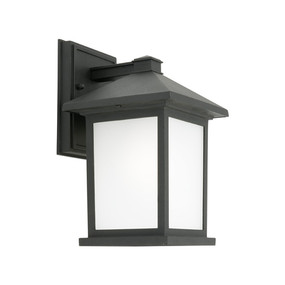 Marine Grade Wall Light - E27 IP43 260mm Black