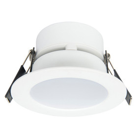 LED Downlight - Dimmable 8W 620lm IP20 4200K 75mm White