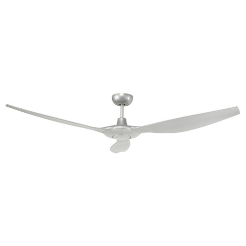 Concorde 60 Inch Ceiling Fan With Remote - Silver