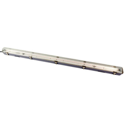 T5 WEATHERPROOF FLUORESCENT FITTING 1x28W 4200K IP65 - GREY