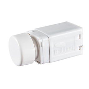 Universal Dimmer With Rotary Dial 350W Maximum - White