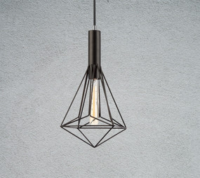 Pendant Light - Industrial Style Cage BB3