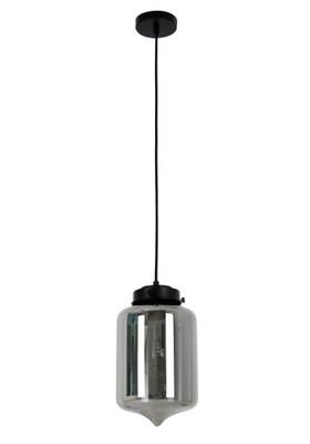 Pendant Lights | MASON Series: E27 Pendant Light - Tippled Smoked Glass