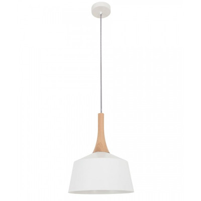 Pendant Lights | NORDIC Series: E27 Pendant Light - White Nordic 1