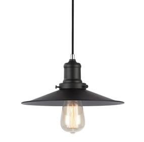 Pendant Light - Industrial Style Black 26cm