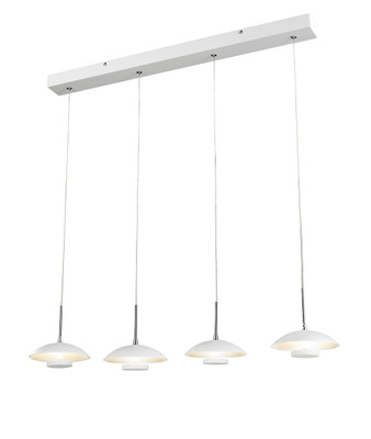 Pendant Lights | ROSWELL series: LED pendant - 4 Bulbs