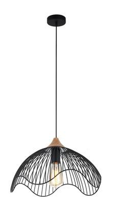 Pendant Lights | SPIAGGIA series: E27 pendant light - Black Iron 25 cm