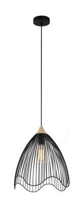 Pendant Lights | SPIAGGIA series: E27 pendant light - Black Iron 40 cm