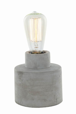 Table and Desk Lamps   AZTEC series: E27 table lamp - Round Base