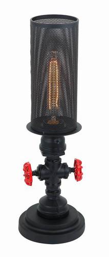 Table and Desk Lamps | VENETO series: Aged Decorative Light - 1 Globe Table Lamp