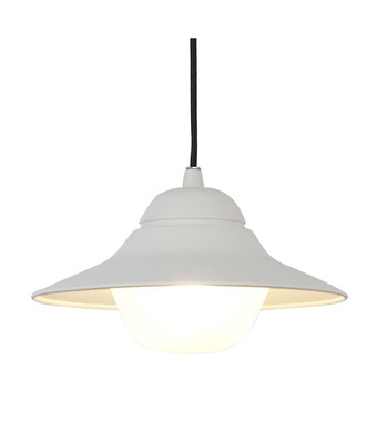 Exterior Pendant Lights | SPY series: Exterior Pendant Light - White