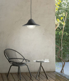Exterior Pendant Lights | SPY series: Exterior Pendant Light - Black