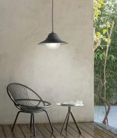 Exterior Pendant Lights | SPY series: Exterior Pendant Light - Black