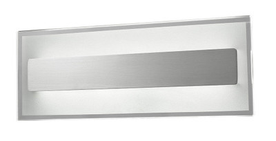 Sconces | CITY Series-BARCELONA: LED Interior Wall Light - Satin Chrome