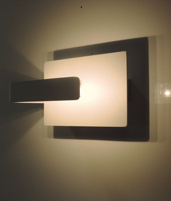 Sconces | CITY Series-BERLIN: LED Interior Wall Light - White Alum