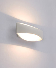 Charming LED Up Down Interior Wall Light - Aluminium
