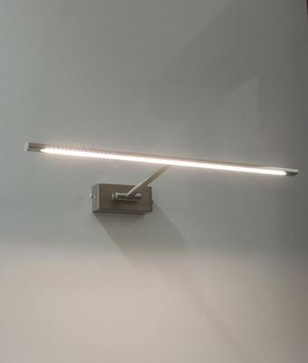 City Series: Paris LED Interior Picture Light - Satin Nickel Iron