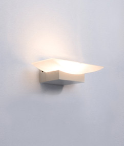 Charming 240V LED Interior Wall Light - Iron Alum