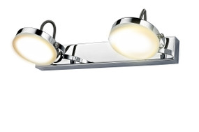 Sconces | CITY Series-SEATTLE: LED Interior Wall Light - Double Adjustable Head