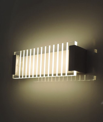 Sconces | CITY Series-VIENNA: LED Interior Wall Light - White Alum