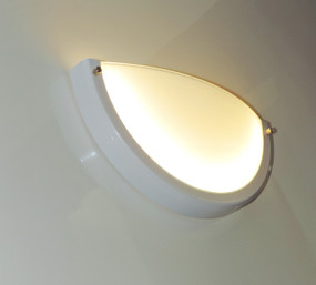 CRESCENT series: LED Interior Wall Light - 7W Warm White Lighting