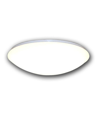 Flush Mounted and Oyster Lights | 240V LED Round Oyster - 14W White Round with Warm White Lighting