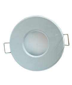 Downlights | Sealed Bathroom Downlight - MR16 Round White