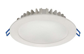 LED Downlight - Dimmable 12W 1020lm IP20 3000K 145mm White Commercial Grade