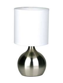 Graceful Touch Lamp Brushed Chrome
