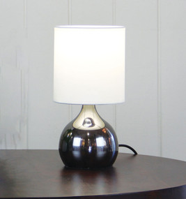Graceful Touch Lamp Gunmetal