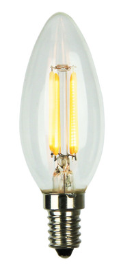 LED Filament Lamp C35 E14 4W 2700K Candle