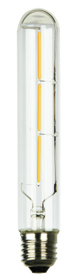 LED Filament Lamp T30-185 E27 3W 2700K