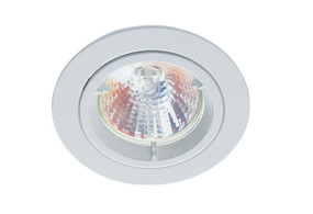 LED 12V Downlight Kit - 50W 80mm White MR16 Globe Included