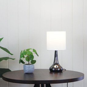 Refined Touch Lamp Gunmetal