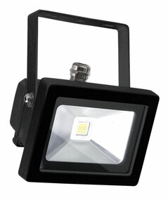 Foco 10W LED Flood Light Black IP65